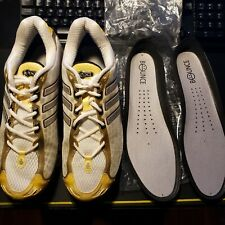 RARE MEN 2008 Adidas Mega Bounce SIZE 9.5 Athletic Running Shoes USED VINTAGE