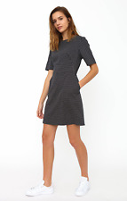 UK Size 8-10 New Ladies Emily And Fin Mock Wrap Dress Peacock Blue