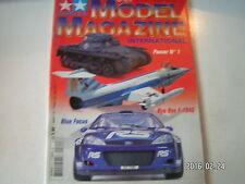 **a Tamiya Model Magazine n°64 Ford Focus WRC 2002 / Le PzKpfw I Ausf A de 1934