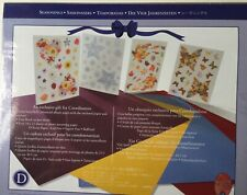 Creative Memories Seasonal Themed Stickers and Photo Mounting Paper Set