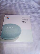Google Home Mini GA00275-US Smart Speaker with Google Assistant - Aqua