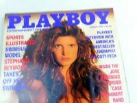 Playboy March 1991 Model Stephanie Seymour