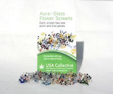 DAISY PYREX GLASS SCREENS SMOKING PIPE FILTER ASSORTED COLORS 200 PIECES SC1001