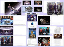 40 RARE COLLECTIBLES from Star Trek: Enterprise - STICKERS, MAGNETS, PEN + MORE!