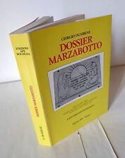 Ognibene,DOSSIER MARZABOTTO,1990 APE[storia Resistenza Bologna,strage Monte Sole