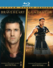Braveheart / Gladiator [New Blu-ray] Gift Set, Subtitled, Widescreen, 3 Pack,