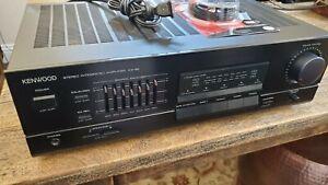 Kenwood KA-88 Stereo Integrated Amplifier Excellent Condition WORKS Vintage