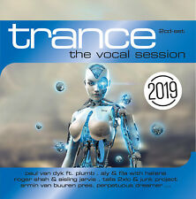 CD Trance The Vocal Session 2019 by Various Artists 2cds