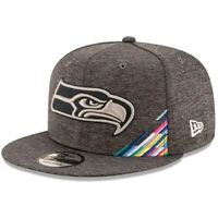 New Era 2019 NFL Crucial Catch 9FIFTY Snapback Adjustable Hat Seattle Seahawks