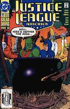 JUSTICE LEAGUE AMERICA # 59 - COMIC - 1992 - 8.5