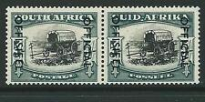 SOUTH AFRICA SGO49 1951 5/= BLACK & BLUE GREEN MTD MINT