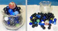 Lot Sm Crystal Crimped Candle holder - Marbles 3 Sizes!