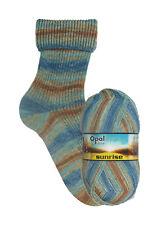 Opal Sockenwolle Sunrise 100 G Farbe 9444 Schönheit Des Himmels