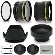 52mm PRO Lens Accessories Kit f/ Nikon AF-S DX Nikkor 18-55mm f/3.5-5.6G VR II