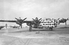 WWII Photo USAAF B-24 Liberator Bomber Assembly Ship WW2 B&W World War Two/ 5095