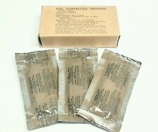 Military Trioxane Compressed Fuel Fire Starter - 1 box (3 LARGE bars!)