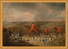 Lord Glamis and his Staghounds Dean Wolstenholme Younger Jagd Hunde B A1 01390