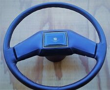 1988 1989 88 89 CADILLAC DEVILLE & FLEETWOOD STEERING WHEEL REDONE IN LEATHER T