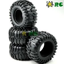 "4pcs RC 1/10 2.2'' Crawler Tires Tyres W/ Foam Fit 2.2"" Beadlock Rims Wheels"