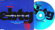 EVERYTHING BUT THE GIRL CD Driving Todd Terry REMIX UK PROMO ONLY UNPLAYED