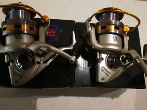2xBrand New smooth Spin Fishing Reel 8 BB KF4000 For $49 freeshipping