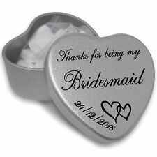 Luxury Personalised Wedding Gifts for guests Keepsake and Momento Special Day