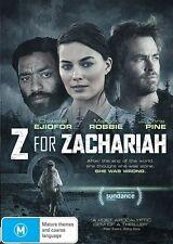 Z For Zachariah (DVD, 2016)
