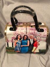 Michelle Obama Glossy Magazine Collage Handbag/Purse/Tote (One Purse)