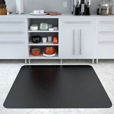 "Chair Mat Hard Floor Protector Office Home Caster Wear Rectangle Black 48"" x 36"""