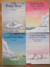 Little Polar Bear Books by Hans de Beer Lot of 4 Paperbacks Ages 5-8