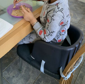 Baby Portable Grey Feeding Dining Booster Seat Travel High Chair UK