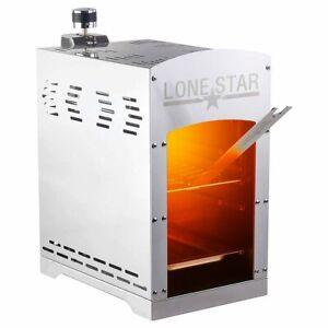 Lonestar Beef Burner 800°C gasbetrieben