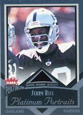 2002 Fleer Platinum Platinum Portraits #PP/JR Jerry Rice