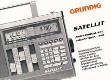 Manual Grundig Satellit 400