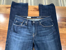 "Adriano Goldschmied AG Jeans Men's 36x34 ""The Protege"" Straight Leg Blue 223"