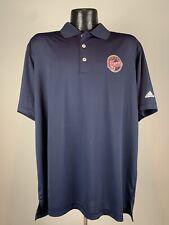 Men's Adidas Golf Puremotion Indiana Fever WNBA SS Navy Blue Polo NWT XL