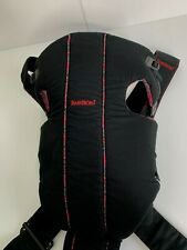 Baby Bjorn Baby Carrier Black Red Plaid Cotton 8 lbs to 25 lbs