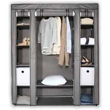 Faltschrank Kleiderschrank Garderobenschrank Campingschrank Stoffschrank faltbar