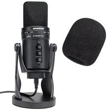 Samson G-Track Pro USB-Mikrofon + keepdrum WS02 Popschutz