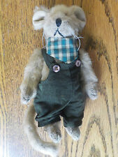Ganz Cottage Collectibles Mouse ~ 1998 ~ Stuffed Plush by Mary Holstad