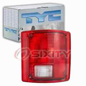 TYC Right Tail Light Assembly for 1978 GMC C35 Electrical Lighting Body dv