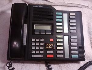 Nortel Norstart Meridian M7324 Black Telephone - Fast Shipping