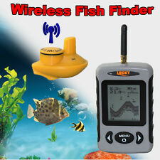 Lucky FFW718 100m Portable Wireless Sonar Fish Finder Alarm 40M/120FT Depth