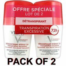 Vichy Desodorante estrés resistir anti-Antitranspirante Roll-on 72h 2 x 50ml