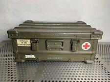 BUNDESWEHR ZARGES A5 ALU BOX KISTE 60L 60x40x25 LAGER BEHÄLTER ARMY CASE BW BUND