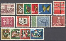 BUNDESPOST - 1962 complete year MNH