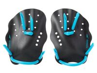 Speedo Swim Swimming Nemesis Contour Paddles Training Workout Pool Aid, Small