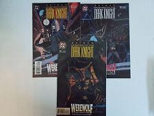 Batman Legends of the Dark Knight 71-73, 1995, DC Comics, Gotham, Justice League