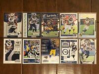 Todd Gurley II - Los Angeles Rams - 10 Football Card Lot - No Duplicates