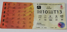 OLD TICKET Olympic Beijing 2008 Volleyball  Bulgaria China Poland Germany 10.08